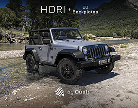 3D 1 HDRI - Automotive 002