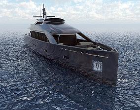 3D Concept Motor Yacht Cyclops