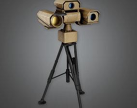 Military Infared Camera Viewer - MLT - PBR Game 3D asset