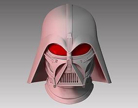 Helmet Life size Darth Vader Concept 3D printable model 1