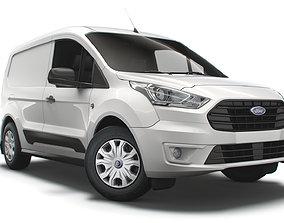 3D Ford Transit Connect Trend UK spec SWB 2020