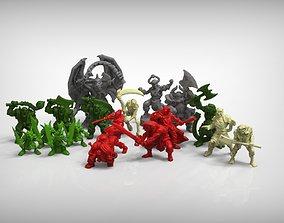 Classic Miniatures enhancement Pack 3D printable model