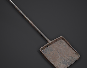3D asset Small Coal Shovel