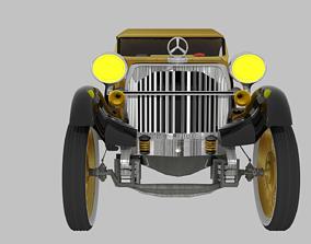 animated ROADSTER 3D CAR MODEL