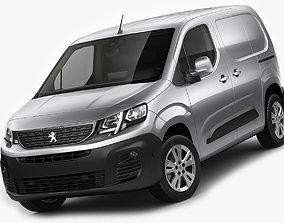 Peugeot Partner Van 2019 3D