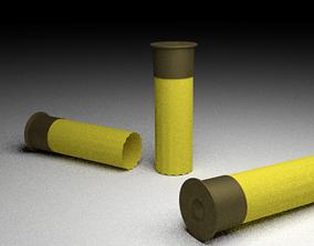 Shotgun Shells 3D asset