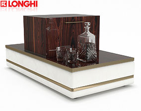 Longhi Cohen Divider Corner Table 3D model
