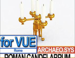 Ancient Roman Candelabrum 3D model