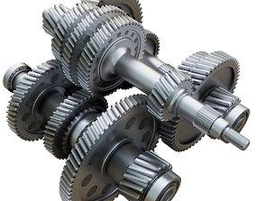 3D Gearbox mechanical