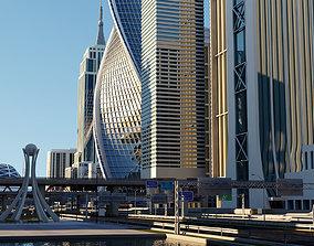 3D model High Definition City