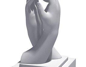Holding Hands Sculptire 3D model