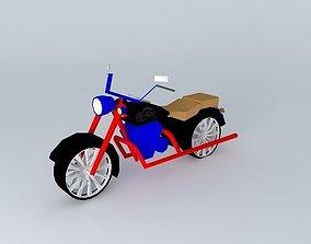 American Dream Motorcycle 3D