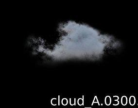 3D model Cloud VDB 1800 frames sequence