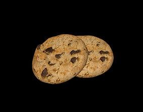 food Cookies 3D model realtime