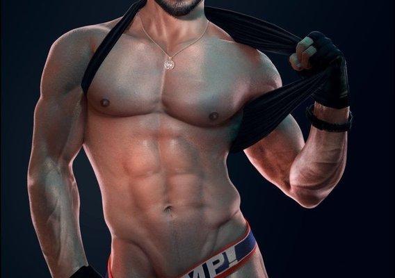 Chris Redfield MUSCLE