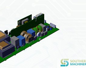 3D LED lighting driver PCB assembly machine manufacturing