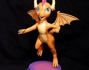 3D printable model Smolder the teenager dragon