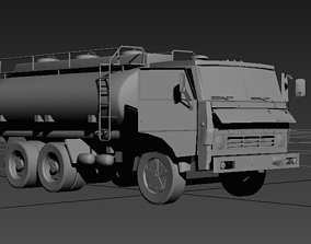3D model Russian pack Kamaz