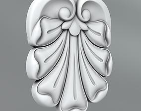3D model Carved rosettes 66