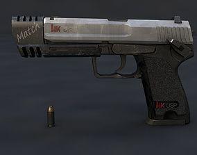 3D asset H k USP