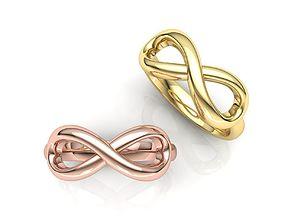 Tiffany Infinity ring 101 3D printable model