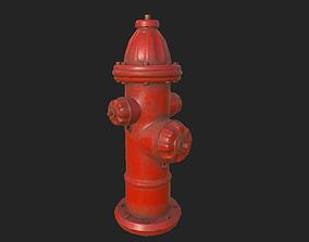 City Fire Hydrant 3D asset