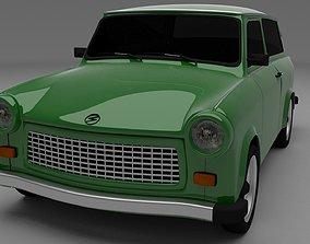 Trabant 601 estate 3D