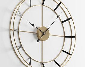3D Wall Clock 2