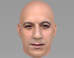 3D model shaw Vin Diesel