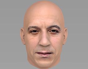 3D actor Vin Diesel