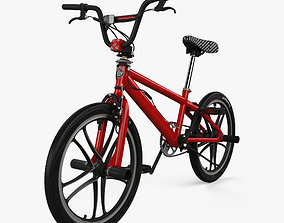 Mongoose BMX Bicycle 3D model