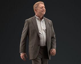 00048PaBsschop011 Man In Suit Walking Pre Posed 3D Model