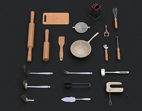 3D asset Kitchen Tools