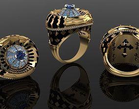 priest ring jewelry 3D print model