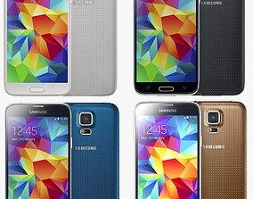 Samsung Galaxy S5 all color 3D
