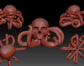 3D print model Octo-Skull