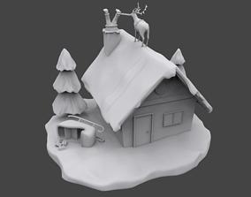 3D printable model Santa is stuck claus