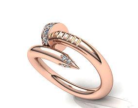 3D printable model Diamond ring two sizes