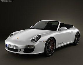 Porsche 911 Carrera GTS Cabriolet 2011 3D