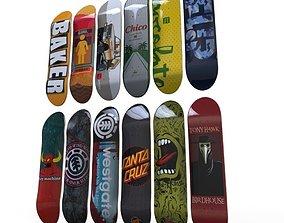 3D asset Skate Decks