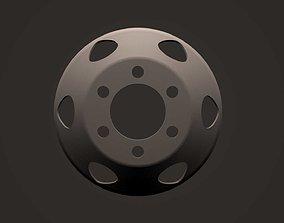 3D model WHEEL DISC TRUCK
