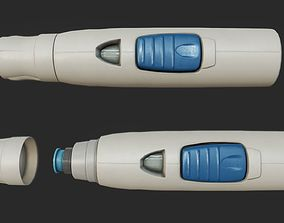 3D model Autoinjector PBR