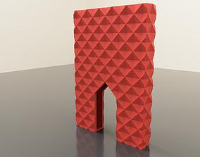 3D printable model wallet Card Holder