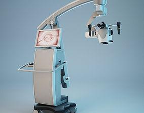 3D model Microscope OPMI PENTERO 900 Carl Zeiss