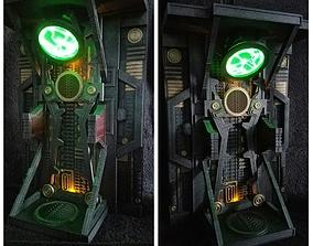 3D printable model actionfigureprop Borg Alcove