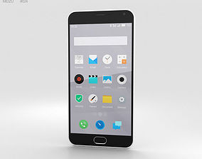 3D model Meizu M2 Note White