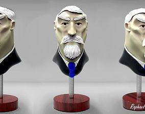 Character Cartoon Face 3D model