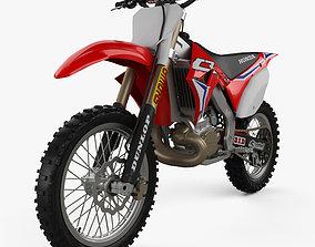 motor 3D Honda CR250 2002