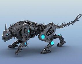 3D model Robot Tiger
