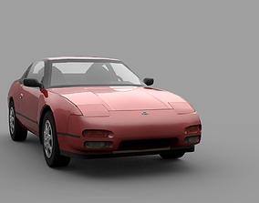3D asset Nissan 240SX S13